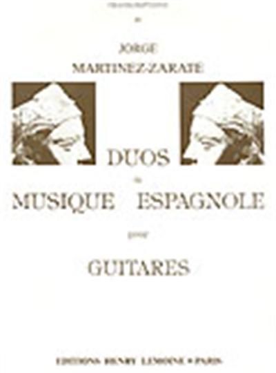 DUOS DE MUSIQUE ESPAGNOLE