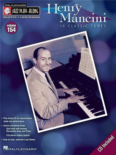 Jazz Play-Along Vol.154 Henry Mancini + Cd