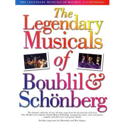 THE LEGENDARY MUSICALS OFBOUBLIL ET SCHONBERG