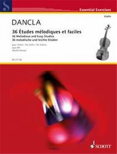Dancla Charles Etudes Melodiques Et Faciles Opus 84 - Violon Solo