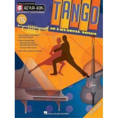 Jazz Play-Along Vol.175 Tango + Cd