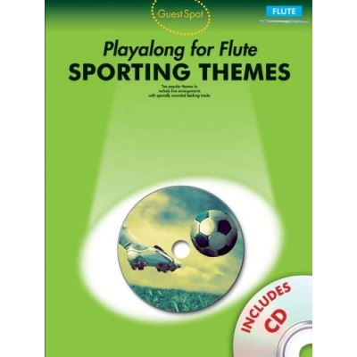 Partitions variété, pop, rock... WISE PUBLICATIONS GUEST SPOT - SPORTING THEMES - FLUTE Musique films - comédies musical