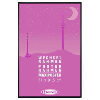 Cadre Pour Poster En Plastique Noir Grand Format 61 X 91 5 Cm Tringles De 12 Mm Vitre En Pvc Incassable Autre Produit Derive Achat Prix Fnac