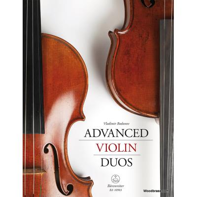 Partitions classique BARENREITER BODUNOV V. - ADVANCED VIOLIN DUOS Violon