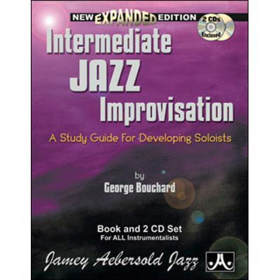 Méthodes et pédagogie AEBERSOLD BOUCHARD JOE - INTERMEDIATE JAZZ IMPRO + 2 CD - FORMATION MUSICALE Formation musicale - solfège