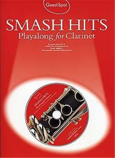 Guest Spot: Smash Hits Playalong For Clarinet + Cd
