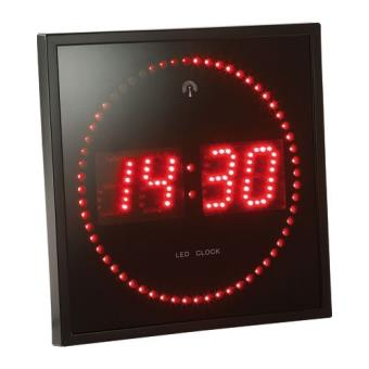 Horloge Digitale Murale Avec 60 Led Radiopilotee Rouge Autre Gadget Achat Prix Fnac