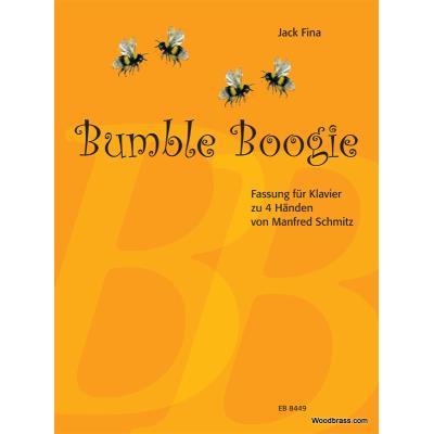 Partitions classique EDITION BREITKOPF FINA JACK - BUMBLE BOOGIE - PIANO 4 MAINS Piano