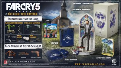 Far Cry 5 Collector Father PS4