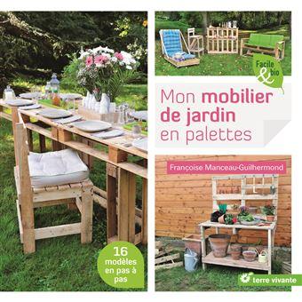 mon mobilier de jardin en palettes