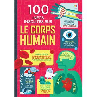 100 infos insolites sur le corps humain