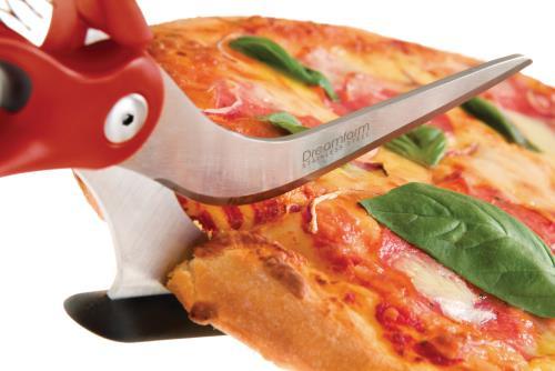 ciseaux et pelle a pizza dreamfarm dfsc2027 scizza 2 en 1