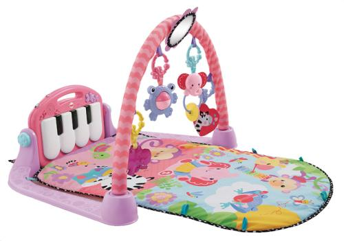 tapis piano rose fisher price