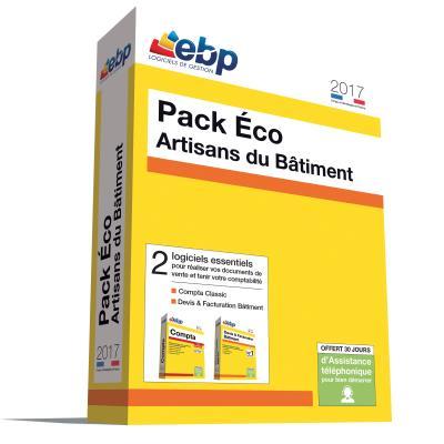 EBP Pack Eco Artisans du Bâtiment 2017