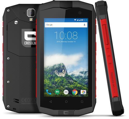 Smartphone Crosscall Trekker M1 Core Double SIM 16 Go Anthracite et Rouge