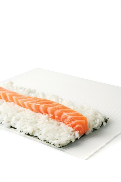 tapis sushi lekue makisu blanc