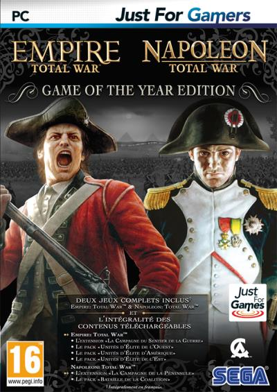 Empire et Napoleon Total War Edition Game Of The Year PC