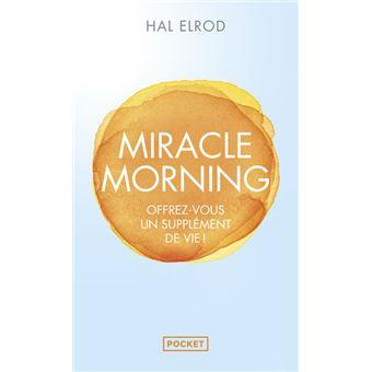 livres et lecture de développement personnel- miracle morning