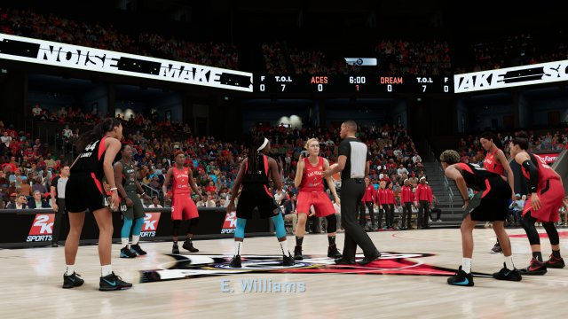 The WNBA, the North American women's basketball league, finally has more presence in the game.