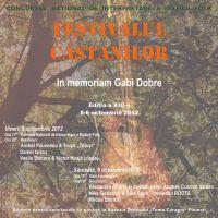 Recitaluri si concurenti la Festivalul Castanilor 2012