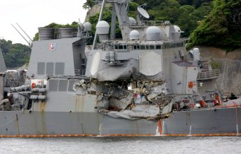 USS Fitzgerald officer pleads guilty in collision that killed 7 sailors