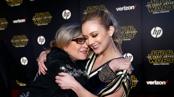 Billie Lourd honors mom Carrie Fisher with cover of Tom Petty