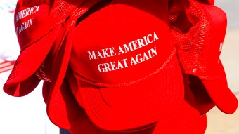 Kansas City man told he couldn't vote while wearing a 'Make America Great Again' hat