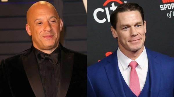Vin Diesel praises John Cena ahead of