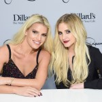 Ashlee, Jessica Simpson stun in glamorous sparkling dresses at friend's wedding 'full of fancy gowns' 💥👩💥