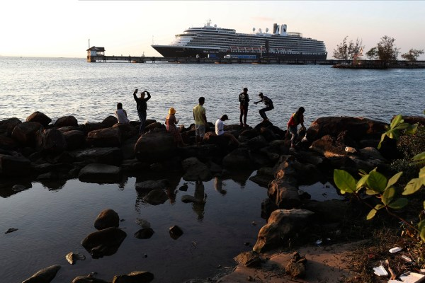 Woman let off Westerdam cruise ship tests positive for coronavirus