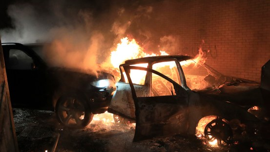 Northern Ireland leaders call for calm after riot night
