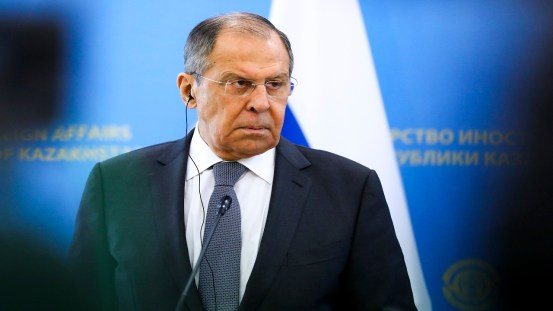 US policy towards Russia is 'stupid', says Lavrov
