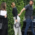 Jennifer Lopez and Ben Affleck get handsy as she leaves his home 💥👩💥