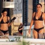 Demi Moore flaunts bikini bod in black two-piece while vacationing in Croatia 💥👩💥