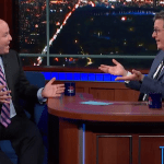 Stephen Colbert grills Brian Stelter on CNN's Chris Cuomo scandal, calls out network's 'odd conflict of rules' 💥💥