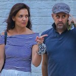 Katie Holmes steps out with mystery man after break up with chef Emilio Vitolo Jr. 💥👩💥