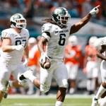 Spartans run: Michigan State rolls past No. 24 Miami, 38-17 💥💥