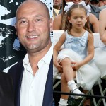 Derek Jeter's wife Hannah, kids make rare public appearance as they sweetly support his Hall of Fame induction 💥👩💥
