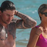Christina Haack shows off sparkler on her finger during beach day amid engagement announcement 💥👩💥