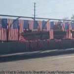 Flags honoring 13 US service members killed in Kabul airport attack vandalized in California 💥💥