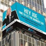 Times Square billboard hammers Biden over forced COVID jabs: 'Hey Joe, time to let the mandate go' 💥👩👩💥