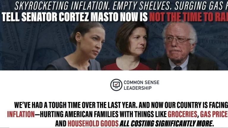 Watch GOP aligned group spotlights 'skyrocketing inflation' to focus on doubtlessly weak Senate Democrats – Fox Politics News
