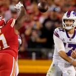 Bills' Josh Allen torches Chiefs for 4 touchdowns in big win 💥💥