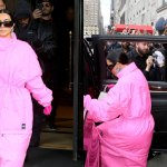 Kim Kardashian and Kanye West spotted leaving Ritz Carlton ahead of her first 'SNL' appearance 💥👩💥
