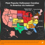 The most popular Halloween candy in every US state, plus top candy cravings💥👩💥💥👩💥