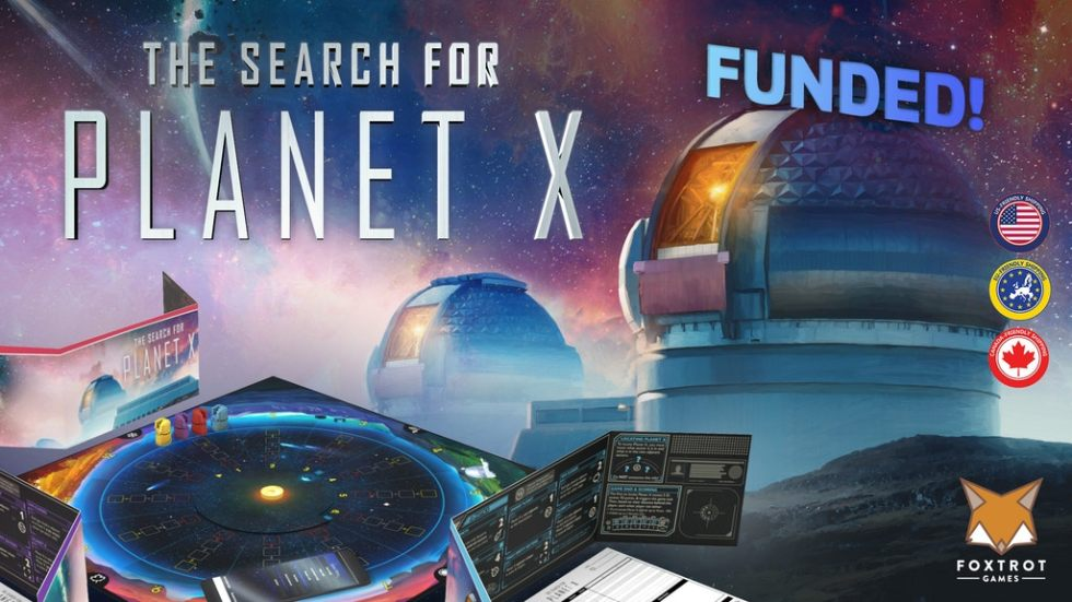 The Search for Planet X is live now on Kickstarter. Check it out!