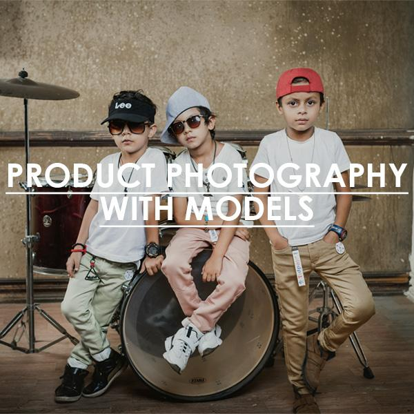 Product Photography with model
