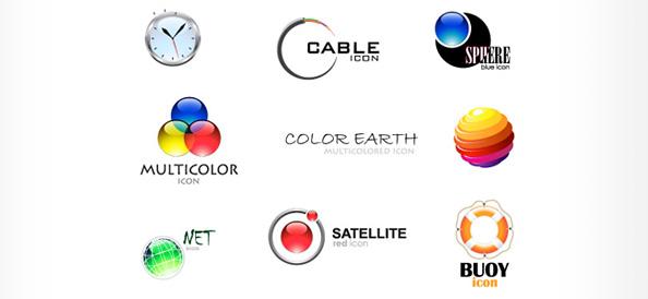 Free Logo Template Set 02
