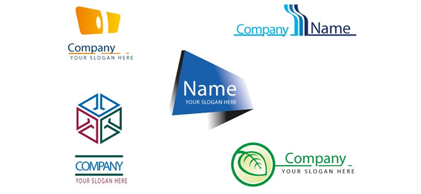 Business logo design set free logo design templates cheaphphosting Image collections