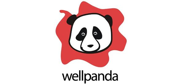 Panda Free PSD Logo Design